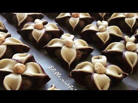 طريقة عمل بسكويت كوكيز الشوكولاتة الملفوف ابيض اسود The Way Of Making Biscuits Cookies Youtube Turkish Desserts Edible Food Sweet Tarts
