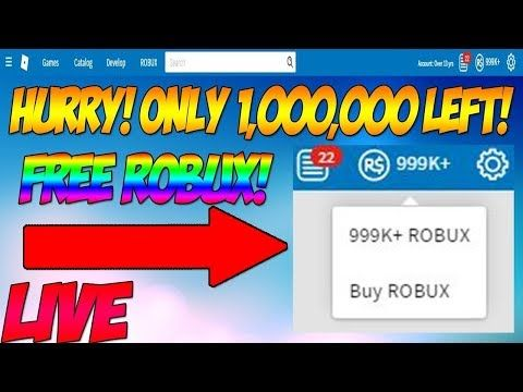 1million Free Robux Glitch 100 Working 2018 Unlimited Robux On