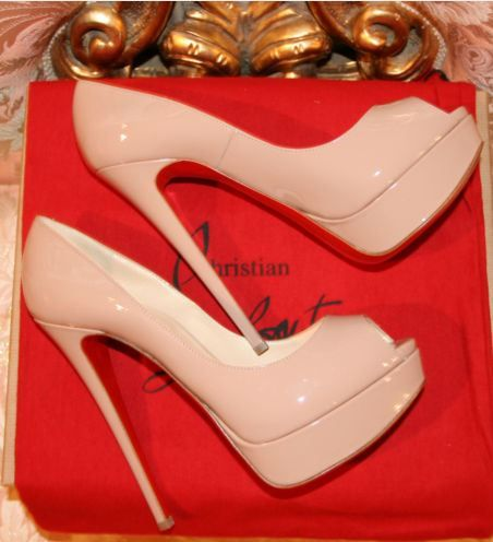 nude color heels