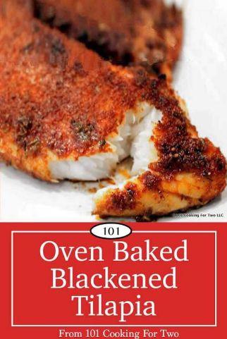 Oven Baked Blackened Tilapia