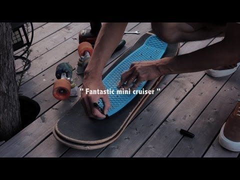 Remodel Skateboard to Cruiser by Penny - YouTube