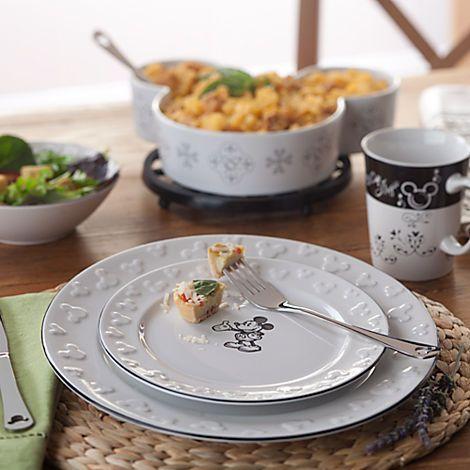 Gourmet Mickey Mouse Dessert Plate   Dinnerware   Disney Store