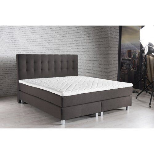 Mercury Row Box Spring Bed Horwitz With Topper Wayfair De Box Spring Bed Horwitz With Topper Modernmoments Lying Surfac In 2020 Kids Bed Canopy Box Spring Bed Bed