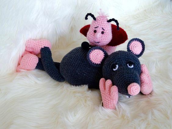Käfer nervt Maus ;-)
