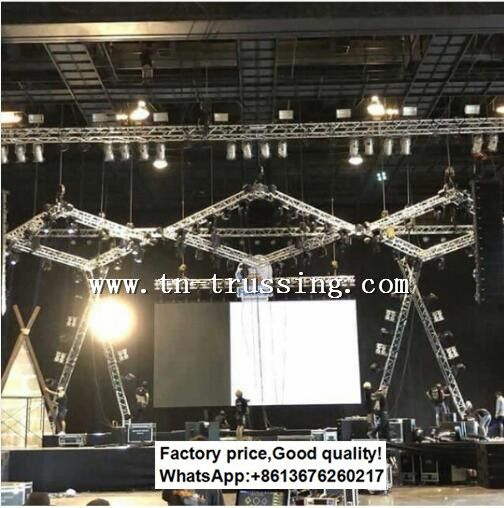 Aluminum Truss Rigging System In 2020 Lighting Truss Stage Lighting Event Tent