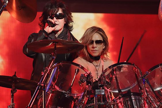 X JAPANが18年ぶり紅白 YOSHIKI「紅白出入り禁止になりたくない」 - ライブドアニュース