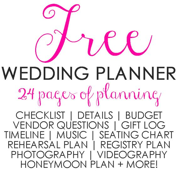 Wedding Planner Greenville Sc Free 24 Page Printable Checklist