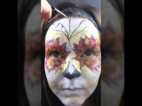 Halloween Make-up Tutorial Sugarskull (deutsch) - YouTube