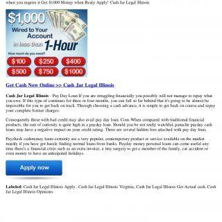 1000 cash advances