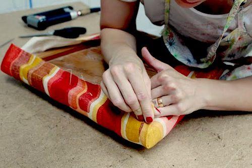 Really thorough tutorial on basic upholstery.