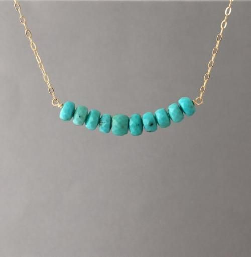 Turquoise Jewelry Beaded gold necklace Turquoise Beaded Necklace Gold layered necklace Amazonite Necklace,/'Blue Shores/' Serenity Project