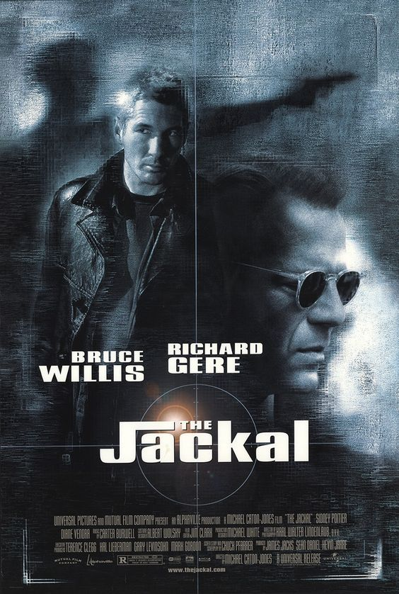 The Jackal 1997 Movie Posters Movies Movie Posters Vintage