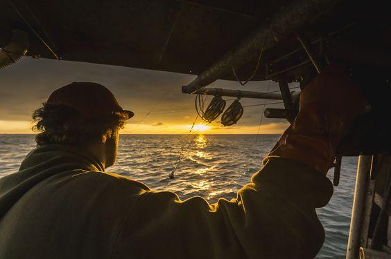 Von Sonnenaufgang bis Sonnenuntergang unterwegs