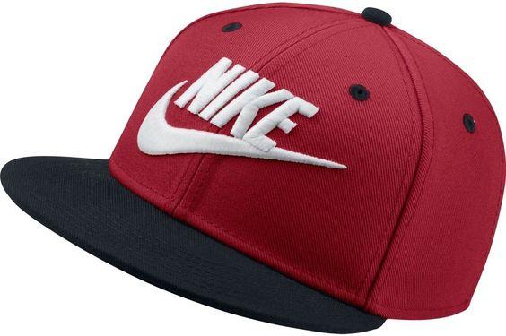 1b01fa644d43f Gorras Nike Planas Roja amorenomk.es
