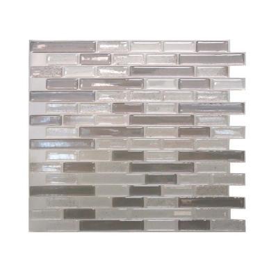 Smart Tiles In X In Muretto Beige Mosaic