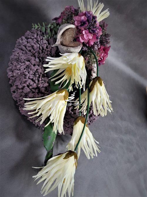 Nowoczesna Kompozycja Na Cmentarz Stroiki Na Groby Wreaths Floral Floral Wreath