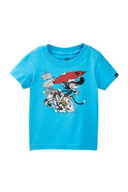 Surf Cat Graphic Tee (Baby Boys)