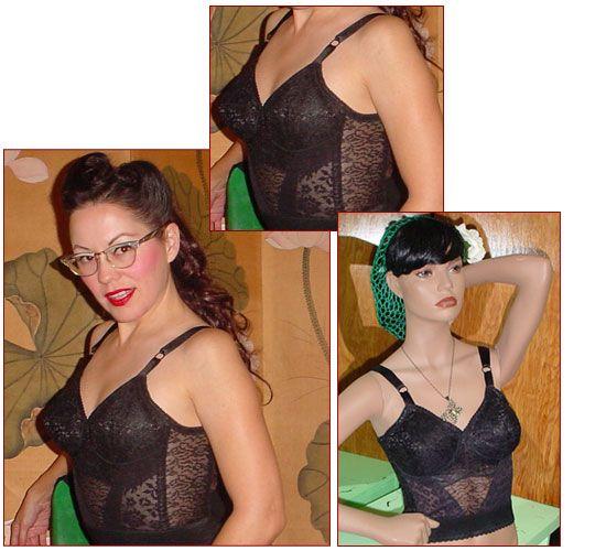 $45 long line bra: Nightwear Unmentionables, Garters Bras, Closet Wishlist, Wishlist Vintage, Bra Black