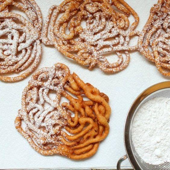 Homemade funnel cake recipe pancake mix
