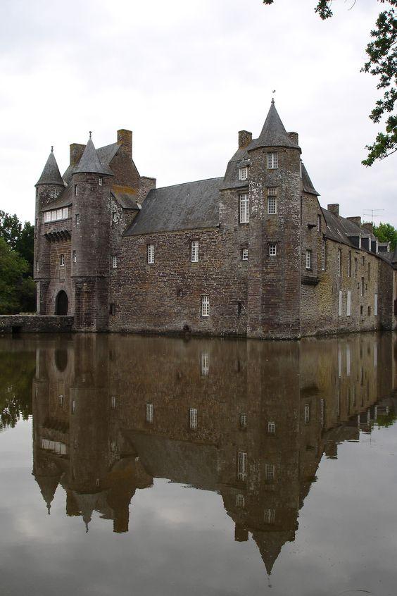 https://flic.kr/p/zPRcQW   Château de Trécesson à Campénéac (Bretagne, Morbihan, France)