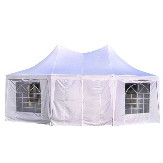 Outsunny 22-inch x 16-inch Octagon 8-wall Party Canopy Gazebo Tent