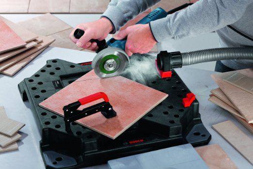 Bosch Professional GWS 7-125 Winkelschleifer (125 mm Scheiben-Ø, 720 Watt in…