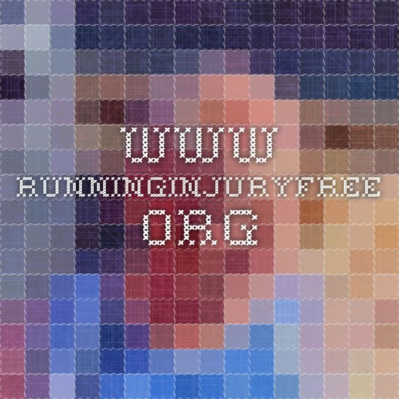 www.runninginjuryfree.org