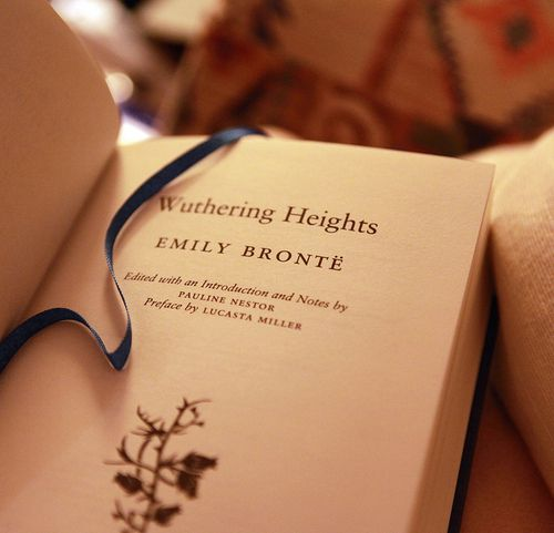 wuthering heights.  Oh Drama!