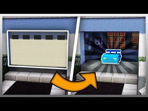 Minecraft Garage Door Mod