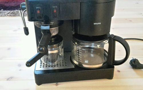Krups Cafepresso 171 Kaffeemaschine Espressomaschine  Milchauschäumersparen25.com , Sparen25.de , Sparen25.info | Preisvergleich  | Pinterest | EBay