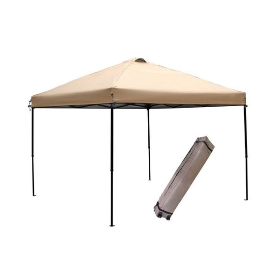 Abba Patio Khaki 10x10-Foot Outdoor Portable Pop-Up Canopy Tent with Roller Bag  sc 1 st  Pinterest & Abba Patio Khaki 10x10-Foot Outdoor Portable Pop-Up Canopy Tent ...