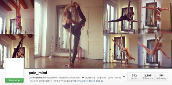 I follow a lot of amazing pole dancers, aerialists, and yogis on Instagram, and get so much inspiration both for specific things to learn and for the joys of living an active life. Instead of focusing on the most popular accounts I want to highlight the ones that I personally pull a lot of inspiration…