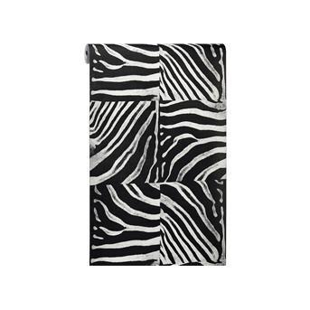 Behang zebra zwart koop het online op kwantum op de muur pinterest zebras - Behang zebra ...