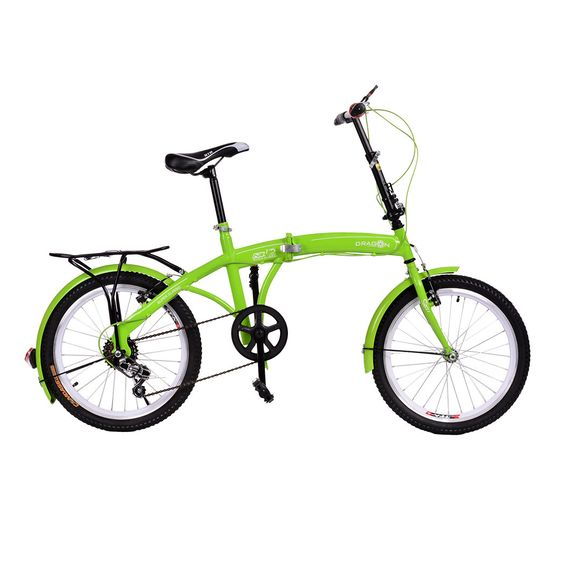 Mountain bike folding bicycle 6 speed bicicletas 20 inch standard double disc bicycle adult bikes unisex biycles 3 colors