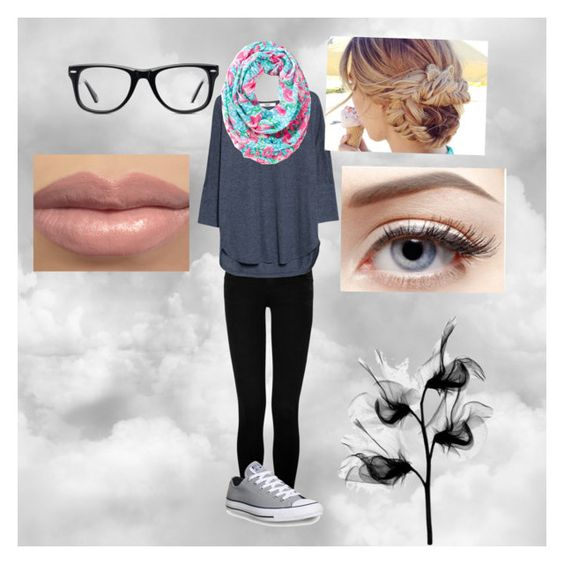 """""""Untitled #21"""" by madelinefern ❤ liked on Polyvore featuring True Religion, MANGO, Converse, Lilly Pulitzer and Muse"""