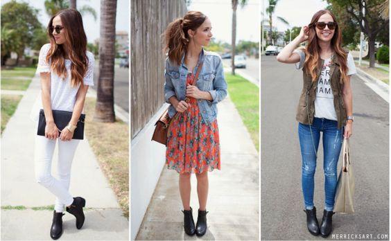 Botas moda inverno: