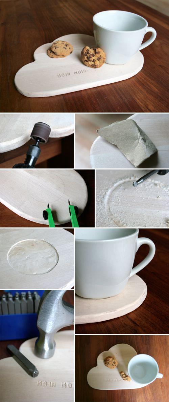 Gingered Things - DIY, Deko & Wohndesign: Frühstückswölkchen