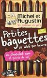 Michel et Augustin Petites baguettes de sablé pur beurre au chocolat noir et pointe de sel 90g - Lot de 3