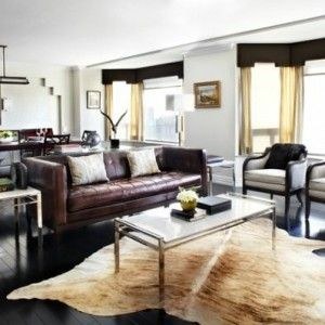 wohnzimmer einrichten modernes designer sofa aus leder, Mobel ideea