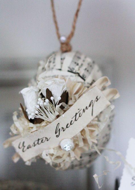 Belle décoration de Pâques ***/***
