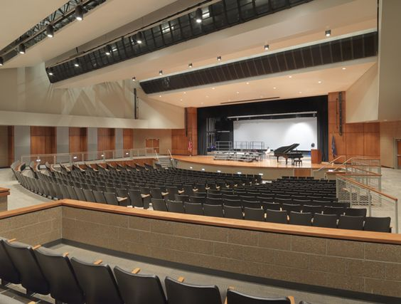 Performance Space At Blue Valley Southwest High School