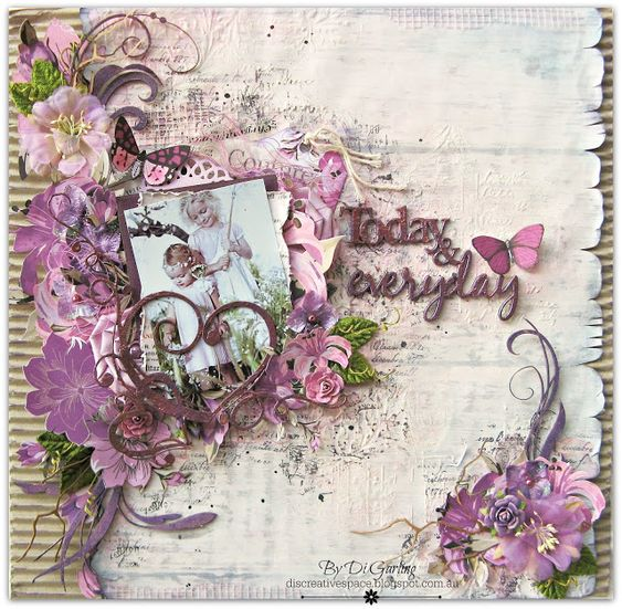 """Di's Creative Space: My 2Crafty Chipboard May DT RevealPart Two""""Today & Forever"""""""