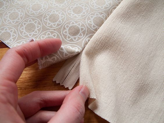 How to sew a cushion cover with an invisible zip -A Tutorial!!