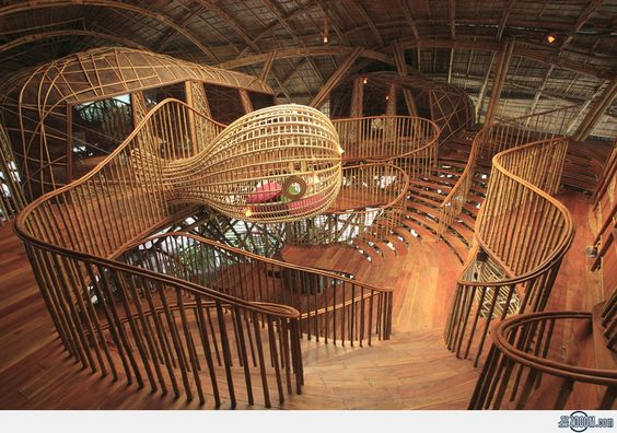 Bamboo House: