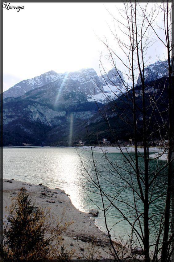 Molveno Lake by Unornya.deviantart.com    ©2012 ~Unornya