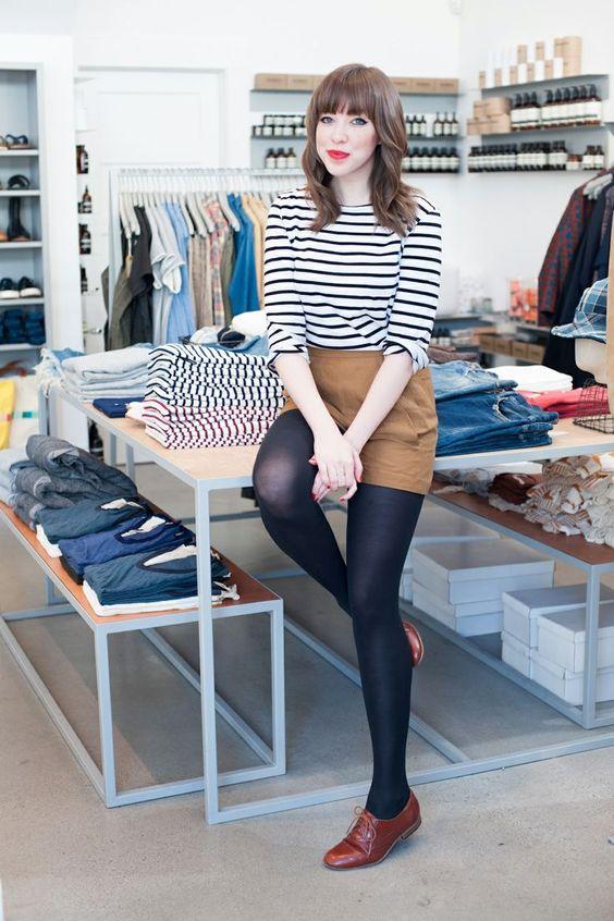 Diesen Outfit können Sie tagsüber anziehen