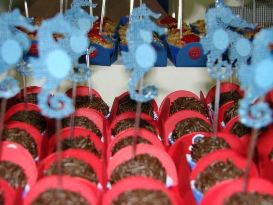 Cavalo marinho para enfeitar doces e cupcakes R$0,70