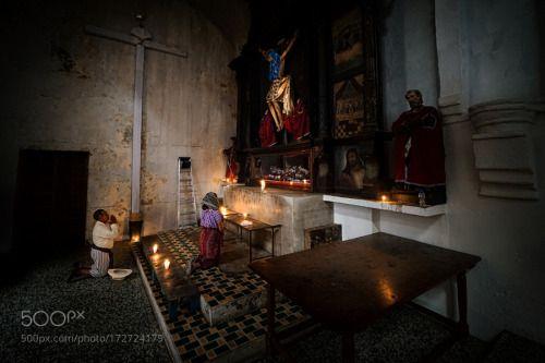 Morning prayers Guatemala by edtsousa  cross church pray christ praying guatemala churchgoer san pedro la laguna edtsousa