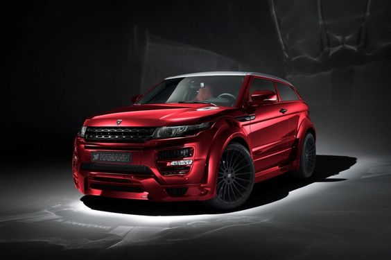 Range Rover Evoque By Haman 1