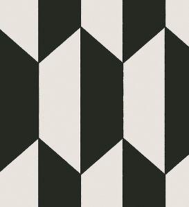 wit/zwart behangpapier
